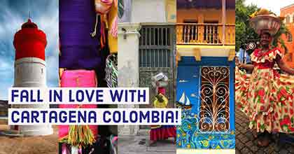 Collection of Cartagena Colombia sights and sounds.