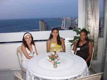 Beautiful Cartagena women