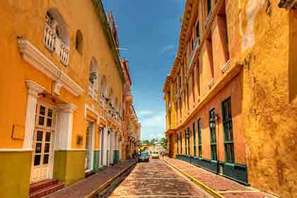 Historical Walled Old City, Cartagena